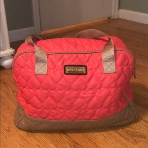 Betsy Johnson Overnight Bag